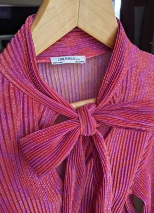 Блуза zara 💥 розовая