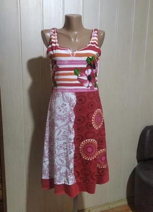 Платье desigual котон