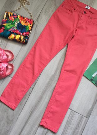 Коралловые брюки vero moda