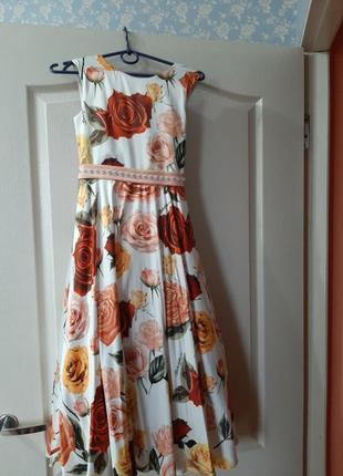 Народное платье для девочек