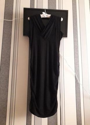 🌿 элегантное чёрное платье на стройную девушку