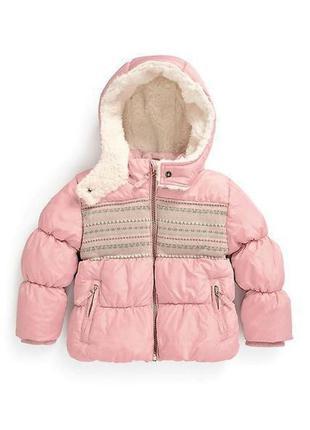 Демисезонная (еврозима) куртка next 12-18 месяцев