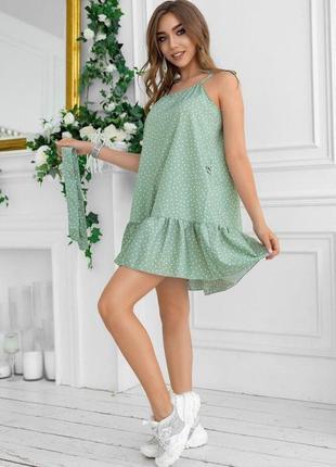 Платье в горошек ✨