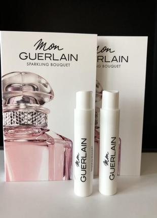 Пробник парфюмированная вода guerlain mon sparkling bouquet, новинка 2021