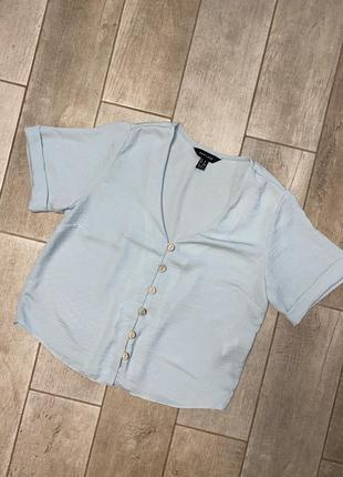 Фисташковая летняя блузка,рубашка
