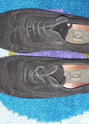 Чоловічі дуже гарної якості туфлі.кожа/замша.европа.