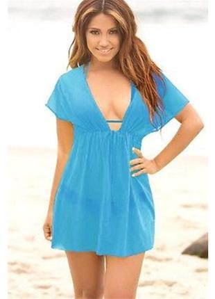 11 пляжная туника,платье-парео