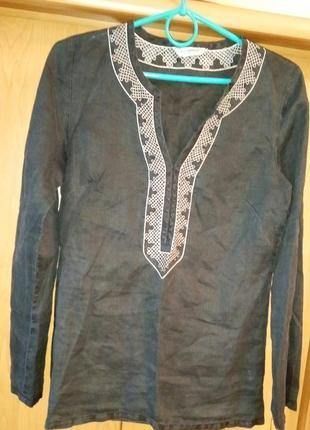 Туника, блуза льняная от atmosphere