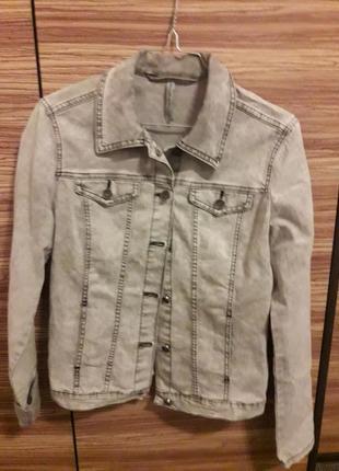 🌞джинсовая куртка пиджак джинсовка
