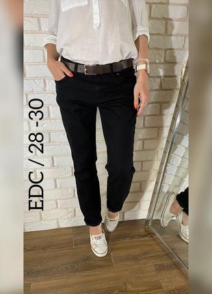 Крутые мягкие джинсы угольного цвета c&a