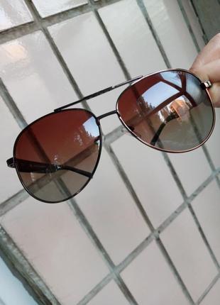 Стильные качественные авиаторы капли очки polarized унисекс