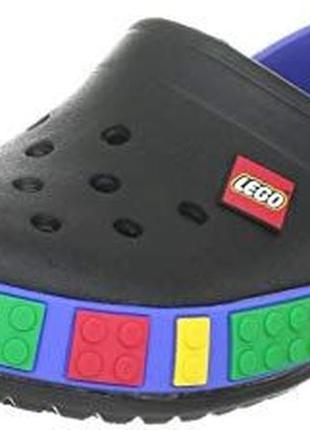 Детские кроксы crocs crocband lego 23-36