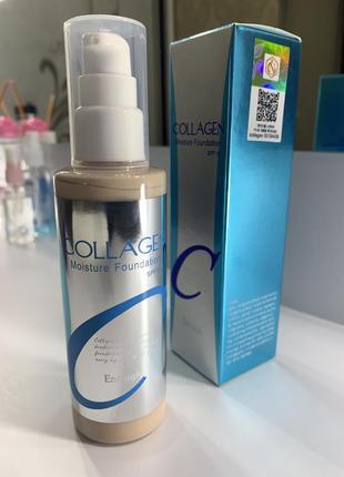 Тональная основа collagen enough moisture foundation 21,23,13