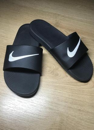 Nike swoosh оригинальные легкие летние тапочки сланцы шлёпанцы