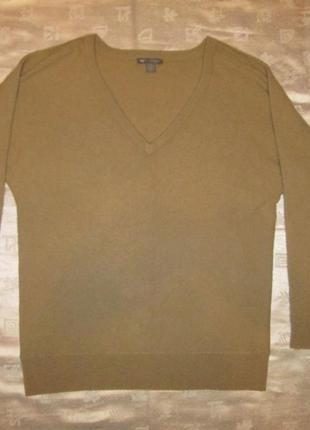 Кашемировый джемпер gap свитер реглан пуловер кофта 100% кашемир