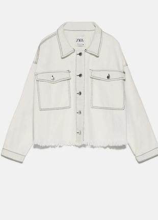 Распродажа, отправки до 24.06❤джинсовка - рубашка zara