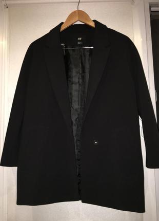 Удлиненный пиджак н&м