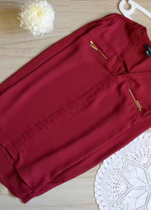 Блуза кольору марсал atmosphere