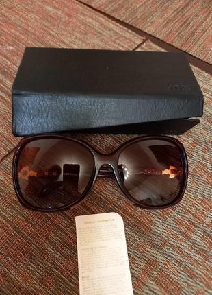 Солнцезащитные поляризованные очки rezi с кожаным чехлом