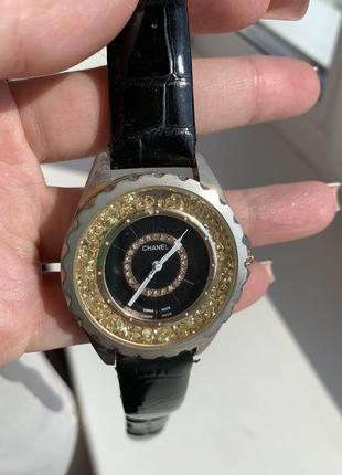 Часы оригинал chanel с сваровски