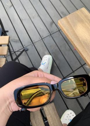 Очки окуляри сонцезахисні тренд желтые