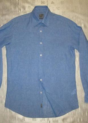 Calvin klein льняная рубашка 100% лен