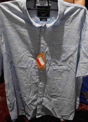 Рубашка  натуральная супер батал большой размер 74 76