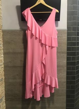 Платье сарафан zara с оборками ❤️❤️