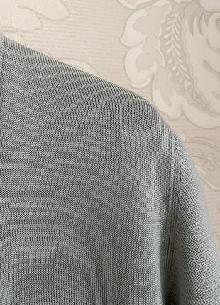 Cividini италия трикотажное платье шелк поло в стиле bottega7 фото