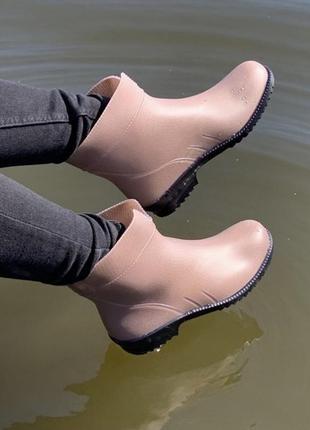 Резиновые сапоги женские 36-41 резинові гумові чоботи жіночі 36-41