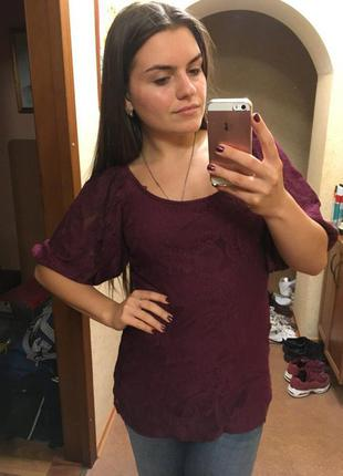 Красивая нежная блуза кружевная