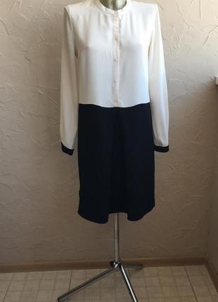 Прекрасное платье шелк kookai