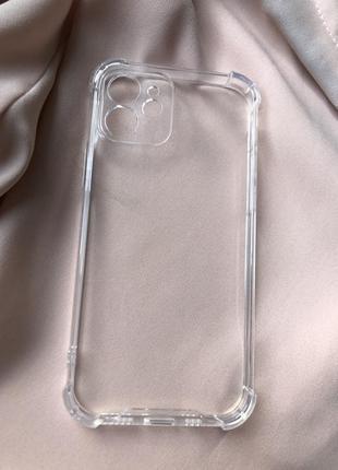 Новый силиконовый защитный чехол на iphone 12