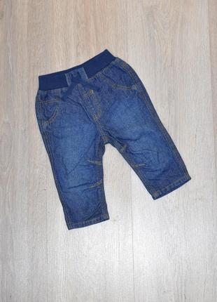 Джинсы george 3-6 мес. джинси штаны штанці штани штанишки брюки модные стильные классные красивые