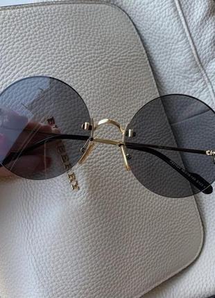 Очки солнцезащитные безоправные с поляризованной линзой