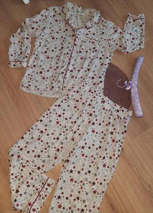 💖женская милая пижамка 💯хлопок marks&spencer m💖