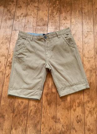 Мужские шорты, шорты с подворотнями