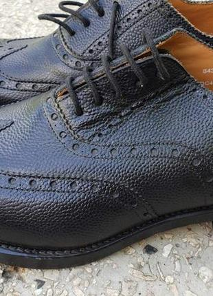 Туфли оксфорды армейские (англия), размер 41,5