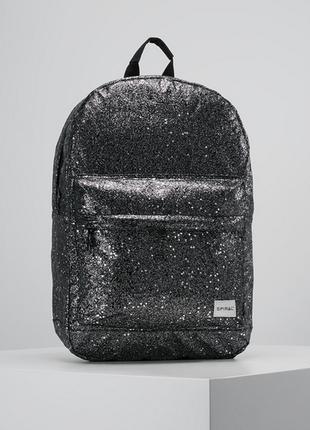 Новый рюкзак британского бренда spiral блёстки (звёздная пыль) сумка для ноутбука