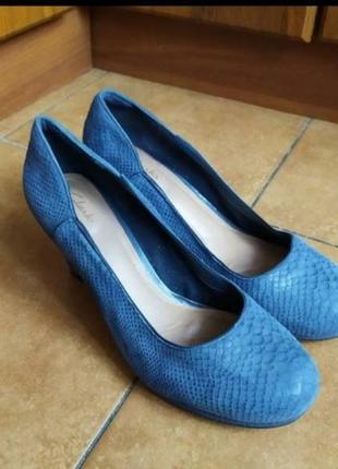 Туфли из натуральной кожи clarks размер 39