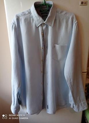 Льняная рубашка от marc'o polo