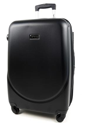 Маленький чемодан черный ручная кладь