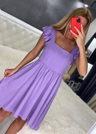 Женские платья лен