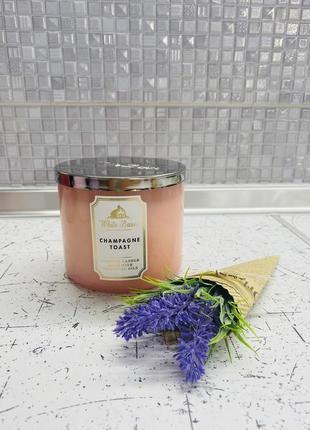 Парфюмированная свеча bath and body works