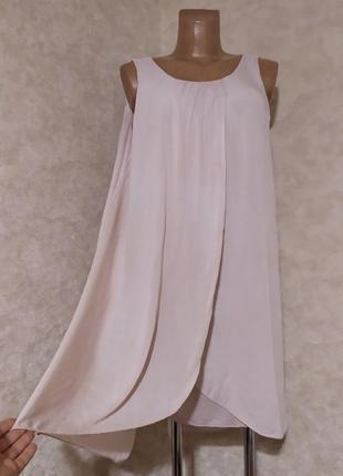Лёгкое свободное платье туника, италия, l-xl-xxl