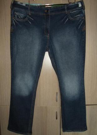 Джинсы женские стрейчевые denim wear 3xl eu 50-52 пояс 118-132см