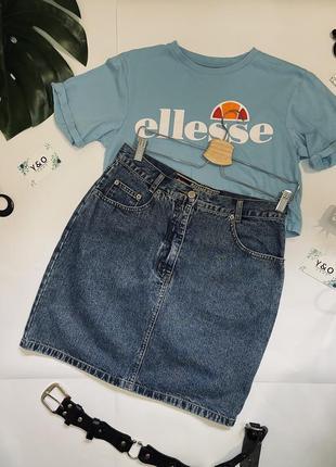 Стильная джинсовая юбка 🖤 jinglers🖤 винтаж