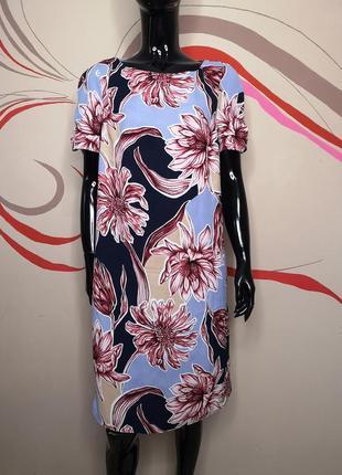 Сукня нежное платье сарафан цветочный принт marks&spencer
