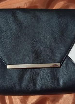 Чёрно-белый клатч/сумочка