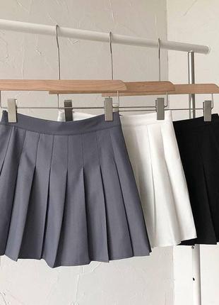 Стильные юбки плиссе 🔥